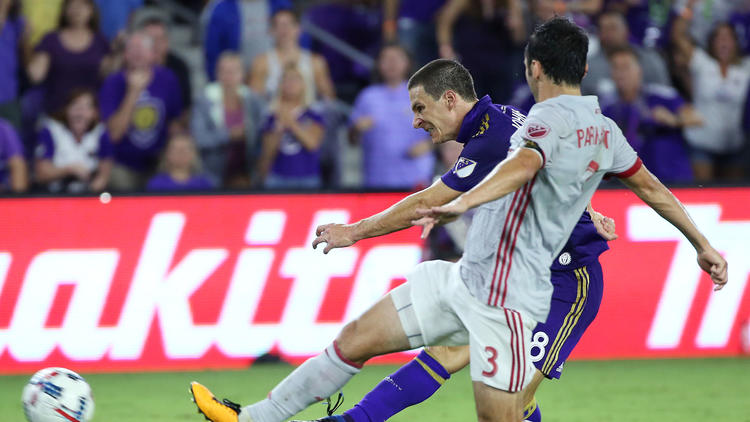 ORLANDO, Fla. (FNN SPORTS) - Despite the highly contested match, Orlando City was found wanting against Atlanta United FC. Photo: Stephen M. Dowell/Orlando Sentinel.