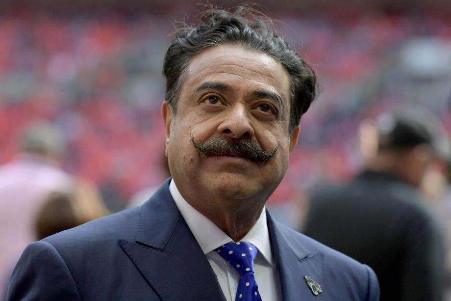 Jacksonville Jaguars owner Shad Khan. Photo: Kirby Lee/USA TODAY Sports