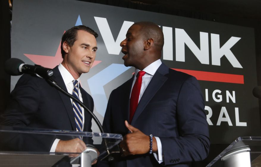 ORLANDO (FNN NEWS) - Today, the Gillum-King campaign announced it will hold a family-friendly general election kickoff in Orlando on Saturday, September 8. (AP Photo: Wilfredo Lee)