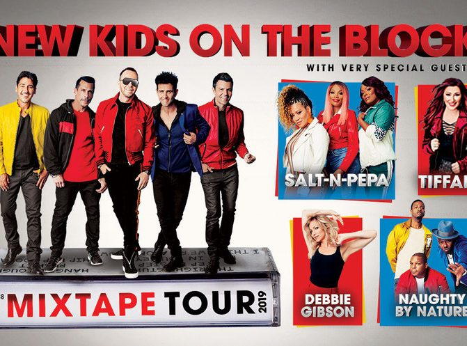MUSIC TOUR | NEW YORK - New Kids On The Block Announce The Mixtape Tour With Very Special Guests Salt-N-Pepa, Tiffany, Debbie Gibson And Naughty By Nature