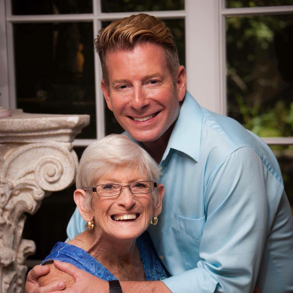 Randy Ross and his mother Betty. Photo credit: Randy Ross