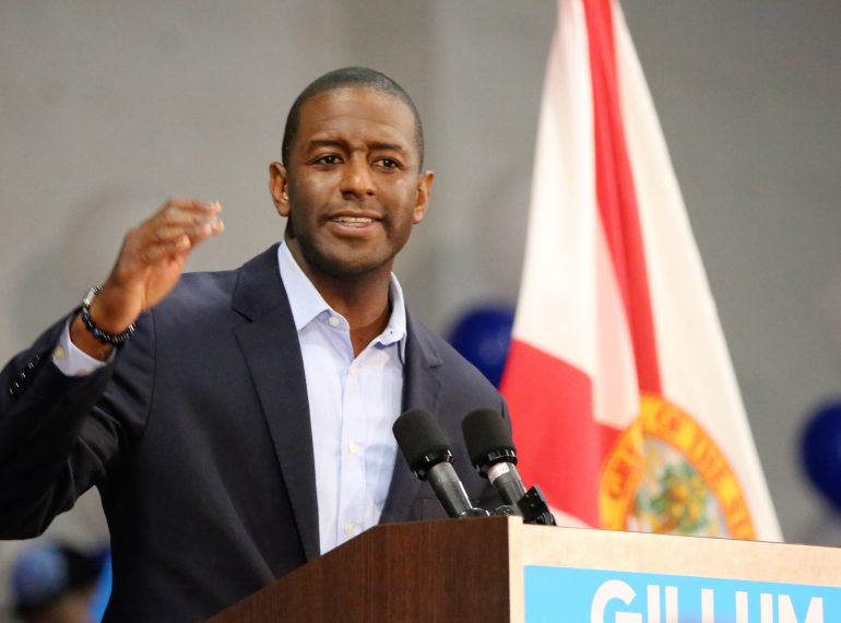 FLORIDA | TALLAHASSEE, Fla. - Gillum for Governor Campaign on Counting Every Vote. (Photo by Willie David / Florida National News)