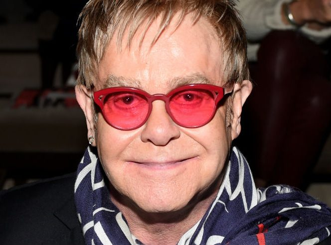Elton John canceled his Florida concerts for health reasons. Photo courtesy of Hello Magazine.