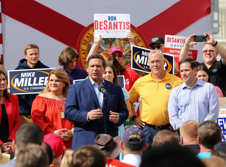 FLORIDA | TALLAHASSEE, Fla. - Governor-Elect Ron DeSantis Announces Transition Team Chairs. (Photo by Willie David / Florida National News)