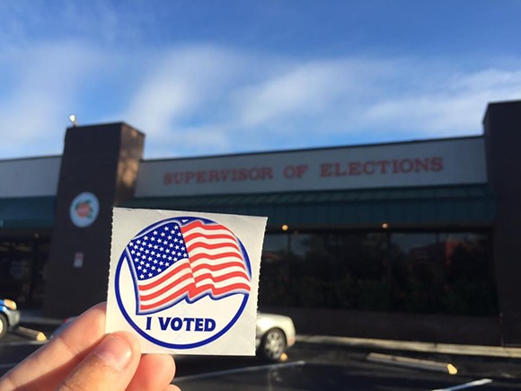 Photo courtesy of Orange County Supervisor of Elections.