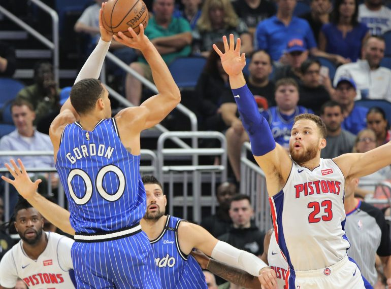 FLORIDA | ORLANDO, Fla. (FNN SPORTS) - Drummond Too Much for Magic as Detroit Defeats Orlando 103-96 (Photo by Willie David / Florida National News)