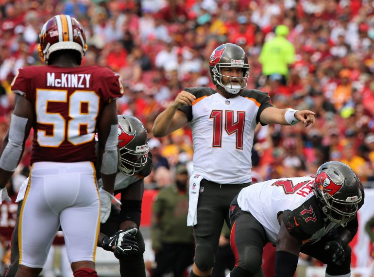 FLORIDA   TAMPA, Fla. (FNN SPORTS) - Buccaneers Fall Short Against Redskins. (Photo by Willie David / Florida National News)