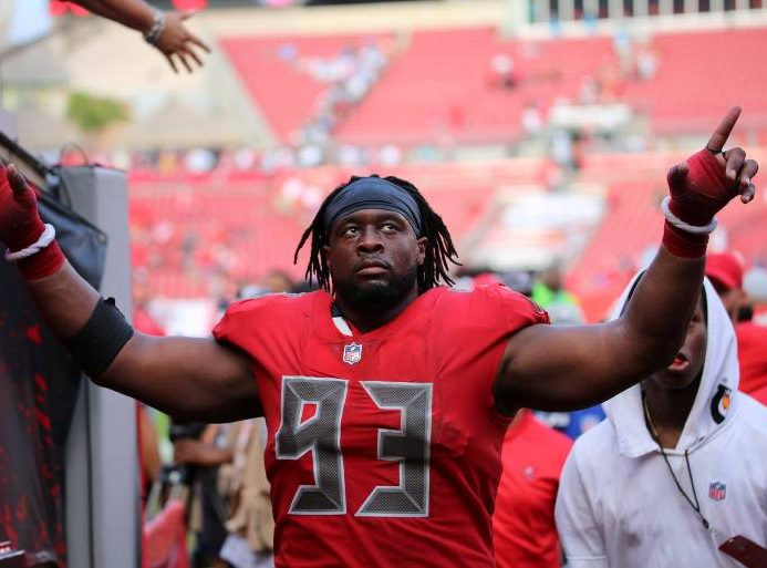 FLORIDA | Gerald McCoy Named Tampa Bay Buccaneers Nominee For Walter Payton NFL Man of the Year Award