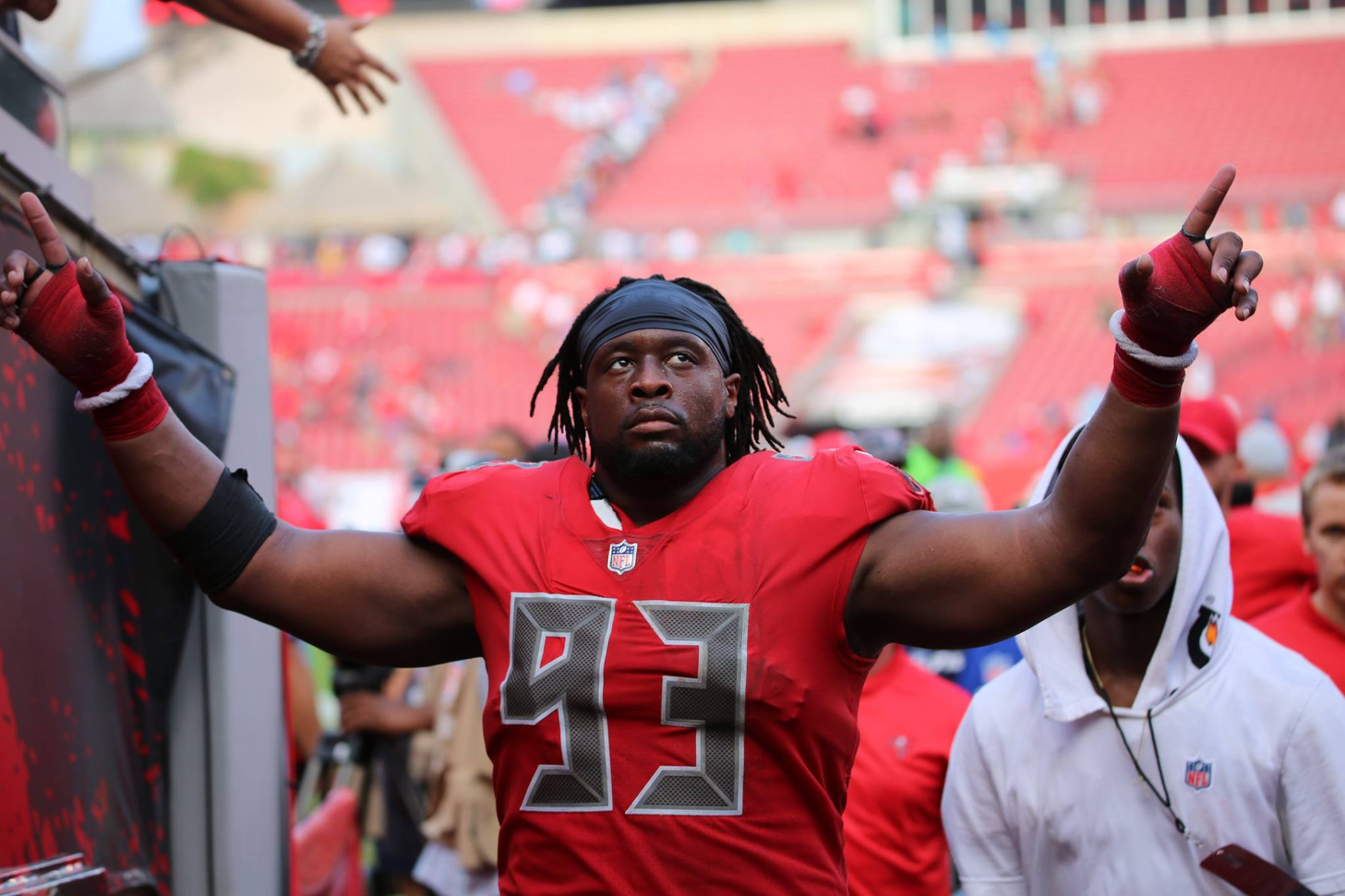 finest selection 5be55 d75be Gerald McCoy Named Tampa Bay Buccaneers Nominee For Walter ...