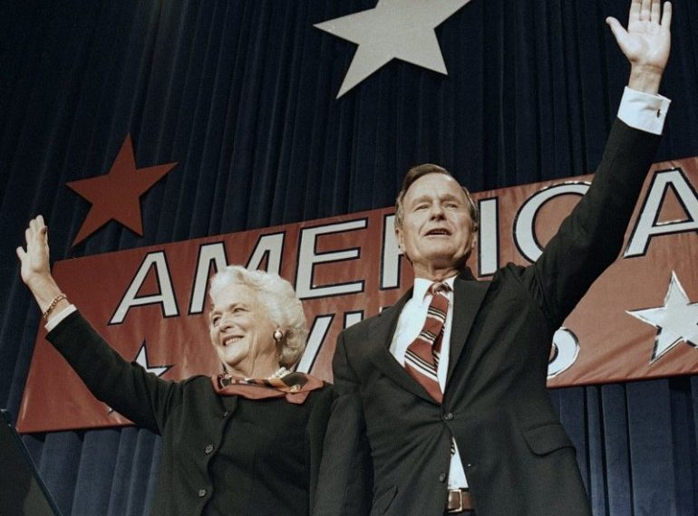 NATIONAL | HOUSTON, Texas (AP) — George H.W. Bush, 'kinder and gentler' president, dies at 94. (Photo AP)