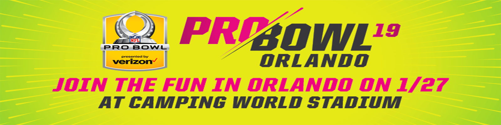 ORLANDO, Fla. (FNN SPORTS) - 2019 NFL PRO BOWL TICKETS ON SALE NOW