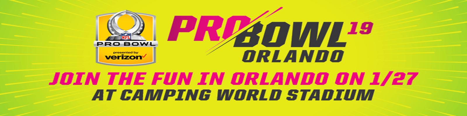 ORLANDO, Fla. (FNN SPORTS) - 2019 NFL PRO BOWL TICKETS ON SALE NOW