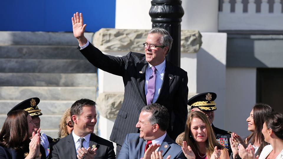 Former Florida governor Jeb Bush. Photo: Mellissa Thomas/Florida National News.com