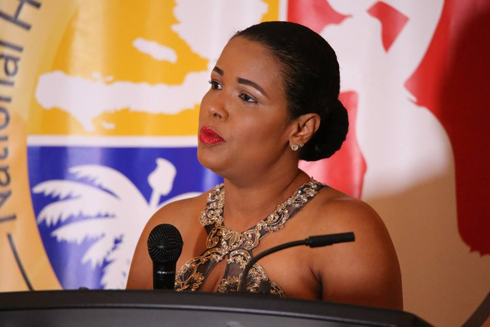 Haiti's Minister of Haitians Living Abroad Marnatha Irene Ternier. Photo: Willie David/Florida National News.