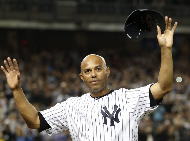 NEW YORK (AP) — Rivera 1st unanimous HOF pick; Doc, Edgar, Mussina also in