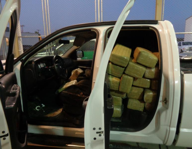 Millions of dollars in drugs were intercepted at ports of entry this year. How will President Trump's wall stop it? (Customs and Border Patrol photo)