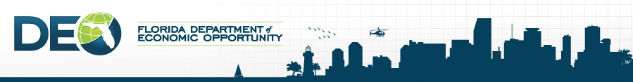 Florida Department of Equal Opportunity banner logo