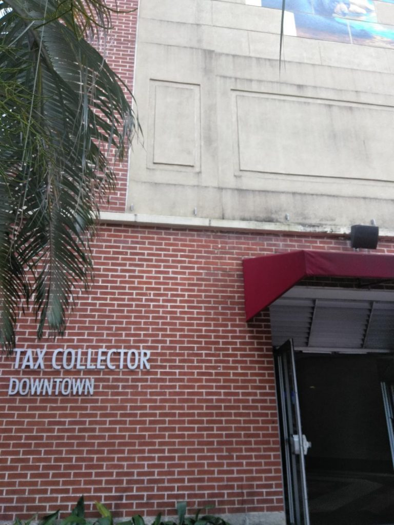 The Orange County Tax Collector's Office located at 301 South Rosalind Avenue is across the street from the Orange County Administration Building, where the Orange SWCD meeting takes place in the County Commission chambers.