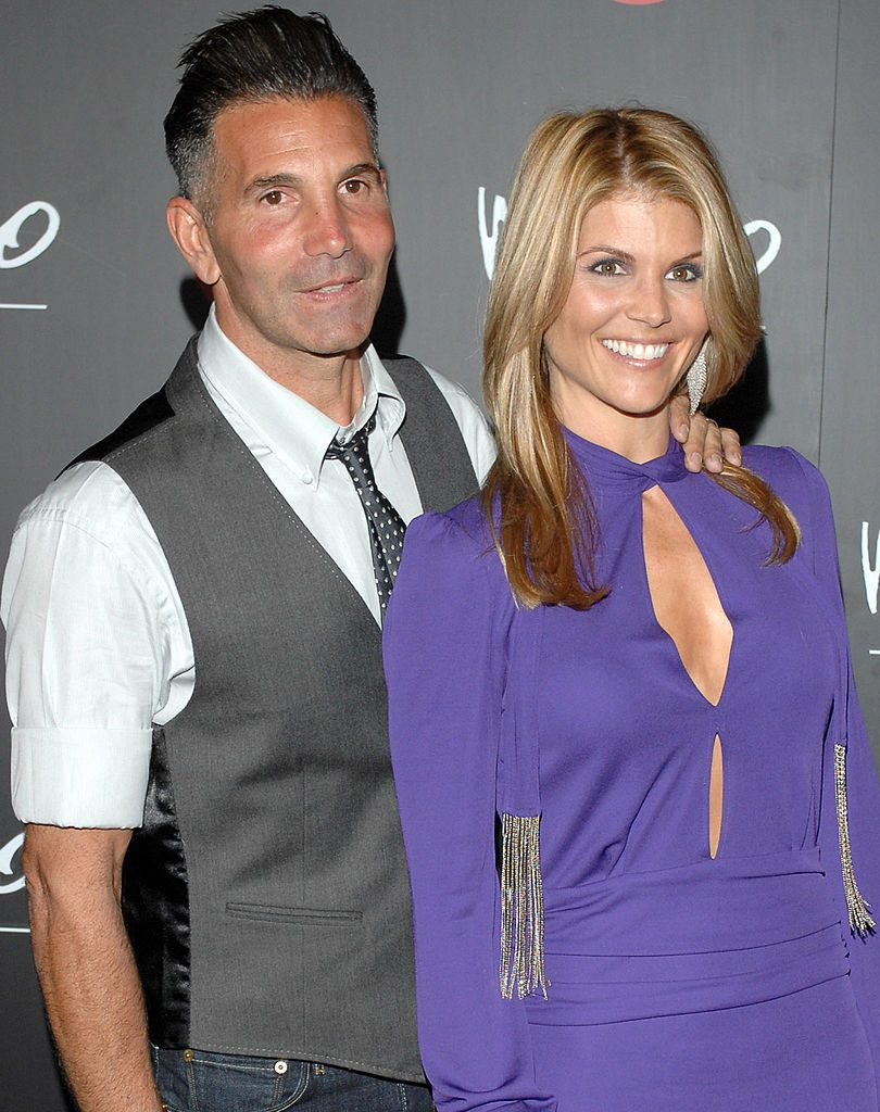 Lori Loughlin (right) and her husband Mossimo Giannulli. L. Cohen/WireImage for LaForce and Stevens