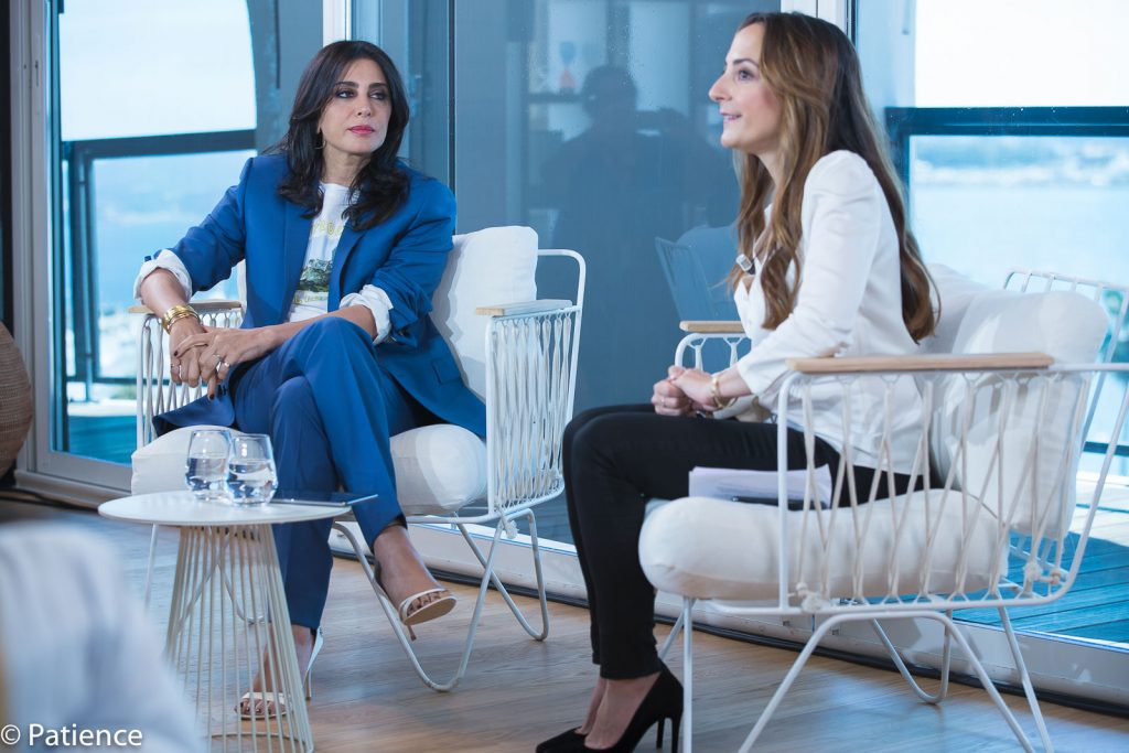 Nadine Labaki answers in-depth questions on what it means to be a woman in film during the 2019 Cannes Film Festival. Photo: Patience Eding/Another Concept Magazine/Florida National News.