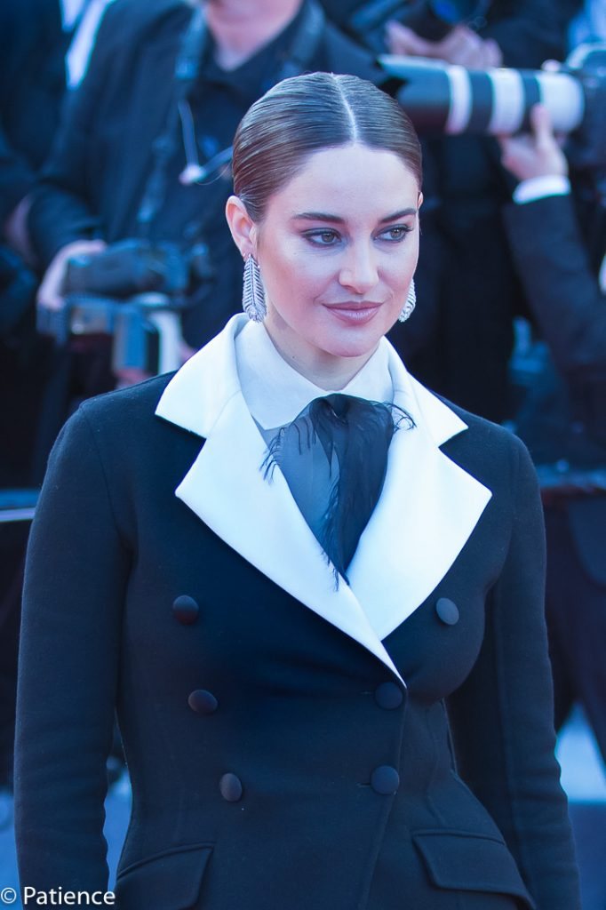 "Shailene Woodley channeled power in her short suit during the ""Rocketman"" premiere Thursday at the 2019 Cannes Film Festival. Photo: Patience Eding/Another Concept Magazine/Florida National News."