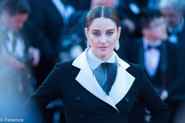 """Actress Shailene Woodley was pure power during the """"Rocketman"""" premiere in Cannes Thursday. Photo: Patience Eding/Another Concept Magazine/Florida National News."""