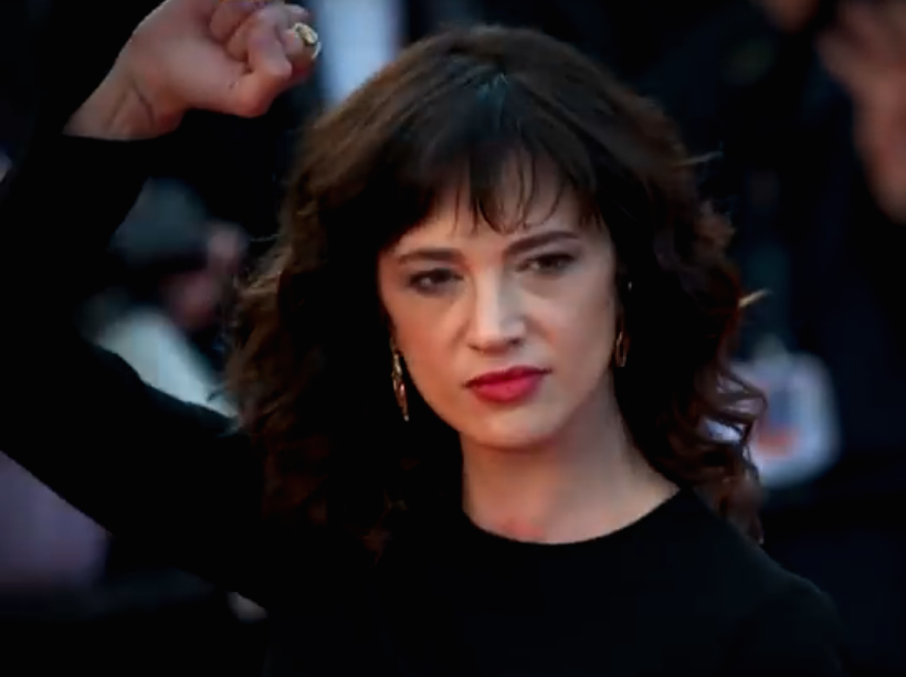 Actress Asia Argento came forward on the red carpet during the 2018 Cannes Film Festival about Harvey Weinstein allegedly raping her when she was 21 years old. She was one of many women who stood in solidarity for women's equality during the 2018 Cannes Film Festival. Image courtesy of Cannes Film Festival.