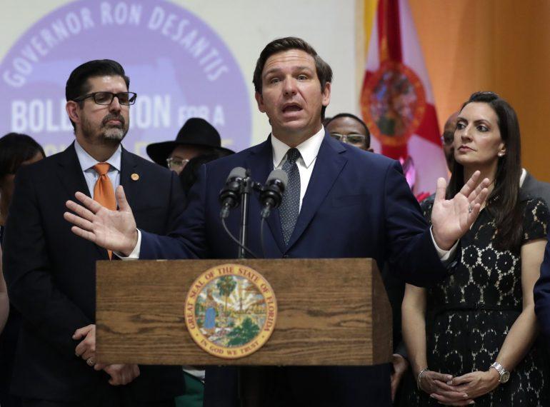 Gov. DeSantis: 'Dumping' migrants in Florida is unacceptable