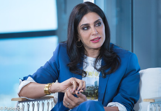 """Oscar-nominated Lebanese film director Nadine Labaki, the 2019 Un Certain Regard President for the 72nd Cannes Film Festival, speaks in a special interview during Kering's """"Women In Motion"""" in Cannes, France May 16, 2019. Photo: Patience Eding/Another Concept Magazine/Florida National News."""
