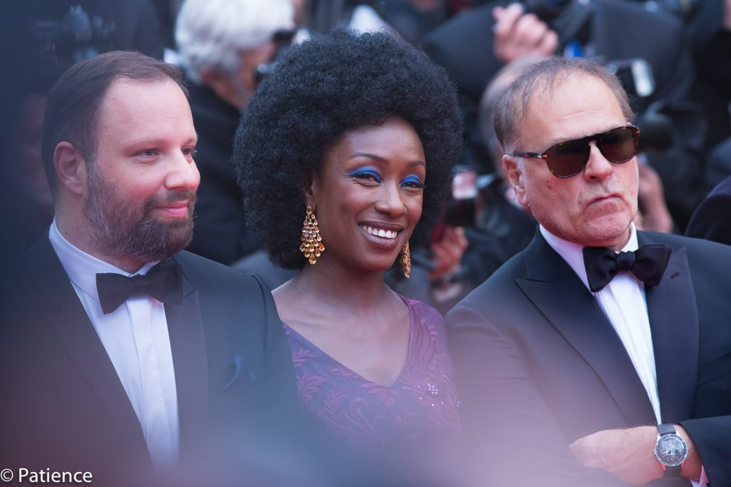 Actress, comedian and 2019 Cannes Film Festival Jury member Maimouna N'Diaye was regal and all soul with bold purple tones and a flawless Afro. Photo: Patience Eding/Another Concept Magazine.