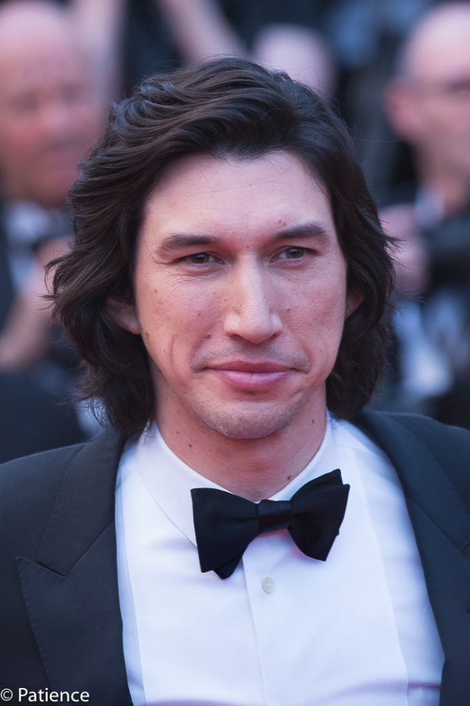"""""""The Dead Don't Die"""" actor Adam Driver on the Cannes Film Festival red carpet Opening Night. Photo: Patience Eding/Another Concept Magazine/Florida National News."""
