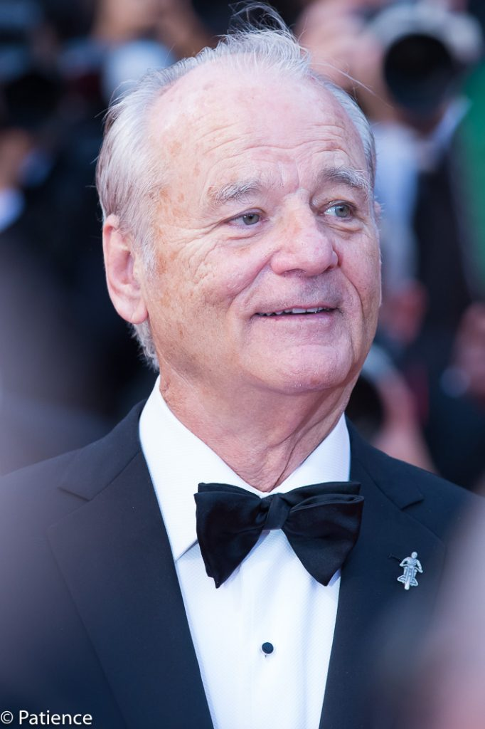 """""""The Dead Don't Die"""" actor Bill Murray on the Cannes Film Festival red carpet Opening Night. Photo: Patience Eding/Another Concept Magazine/Florida National News."""