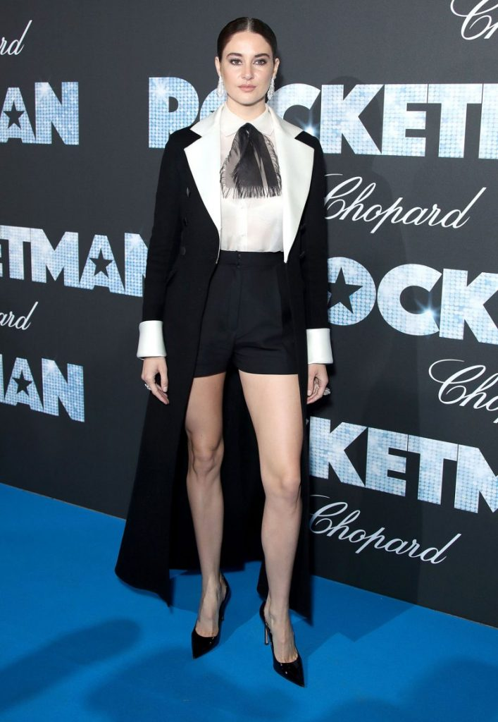 "Shailene Woodley opened up and let it out at the ""Rocketman"" premiere party in Cannes Thursday. Photo: Mike Marsland/WireImage."