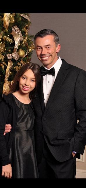 U.S. Marine and his daughter Sydney. Photo courtesy of U.S. Marine.