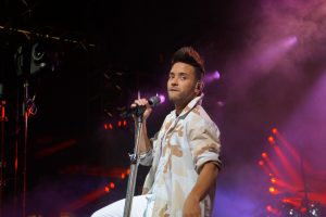 Prince Royce performing at the MLS All-Star Concert. Photo: Leyton Blackwell/Florida National News.