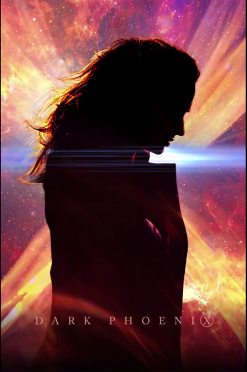 "The ""Dark Phoenix"" film poster. Courtesy of Sony Pictures."