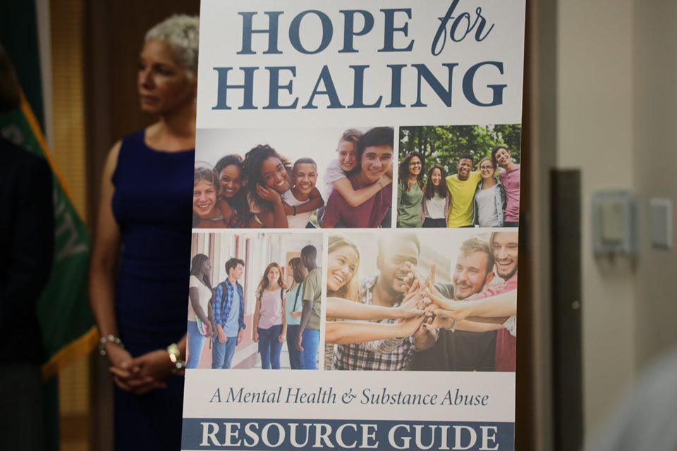 Hope for Healing Florida resource guide banner. Photo: Willie David/Florida National News.