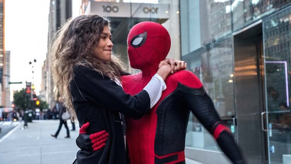 "Zendaya and Tom Holland return in ""Spider Man: Far from Home."" Courtesy of Marvel Studios."