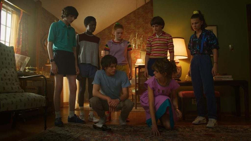 'Stranger Things' season 3 unlocks even more challenges and surprises as the beloved young cast enters adolescence. Image: Netflix.