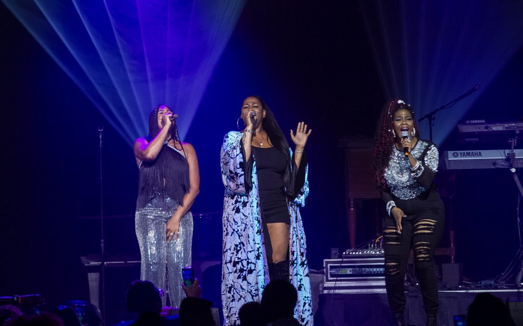 Brownstone proved that they've still got it for their original fans and a new generation during the AARP Grown Folks Night for the 2019 Allstate Tom Joyner Family Reunion at the Gaylord Palms Resort & Convention Center. Photo: Rance Elgin.