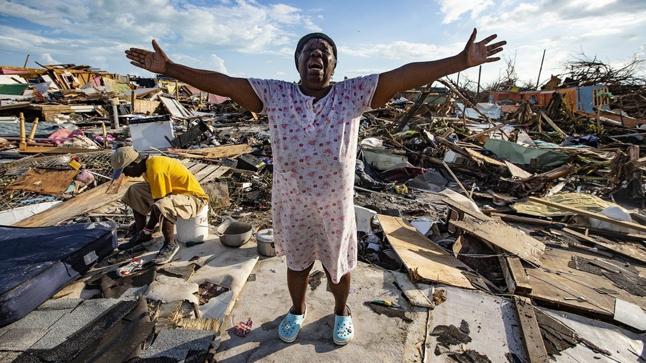 Dorian didn't spare the Bahamas from its deadly wrath, causing a massive humanitarian crisis for its citizens. Photo courtesy of One-News.net.