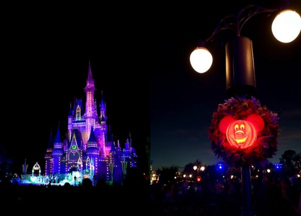 If you haven't been by in September, Walt Disney World Resort has decked its halls in Halloween decor for its series of Mickey Mouse's Not So Scary Halloween Parties. Photo: Jessica/thenovicechefblog.com.