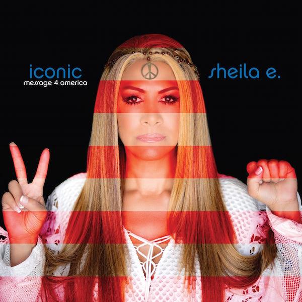 "Sheila E. brings her ""Iconic"" beats to Orlando this week. Album cover art courtesy of sheilae.com."