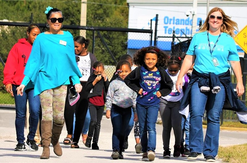 FILE - Orange County Soil & Water Conservation District Supervisor Daisy Morales and the City of Orlando's Water Reclamation Staff take school aged students on educational tour of the water treatment facility, Tuesday, November 26, 2019. (Photo by Willie David / Florida National News)
