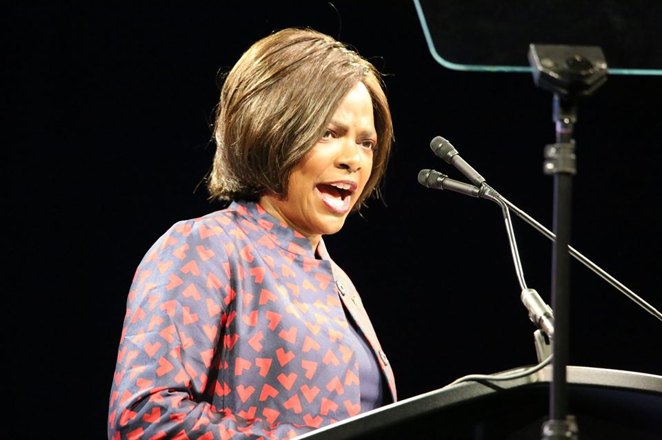 FILE - Congresswoman Val Demings delivers remarks at the 2018 International Association of Chiefs of Police (IACP) Conference at the Orange County Convention Center. (File photo: Willie David / Florida National News / FNN News Network)