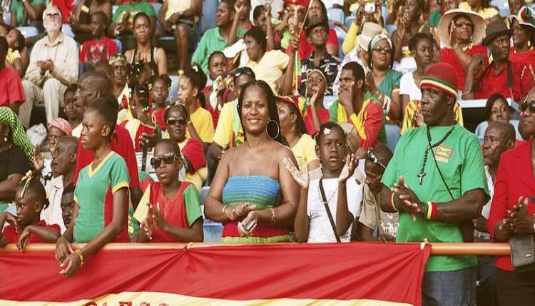 While the Embassy of Grenada celebrates in Washington, Grenadians flood the Grenada National Stadium every year for Grenada's Independence Parade. Photo: Grenada National Stadium Authority.