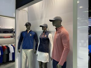 Clothing on display at the 2020 PGA Merchandise Show at the Orange County Convention Center January 21-24, 2020. Photo: Leyton Blackwell/Florida National News.