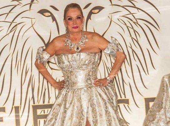 Liz Sheppard walks the runway at a recent fashion show. Photo courtesy of Liz Sheppard.
