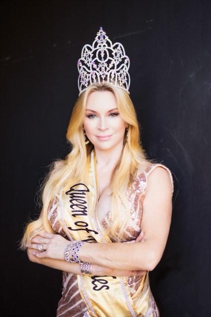 Jacqueline Siegel, The Queen of Versailles. Photo courtesy of Jacqueline Siegel.