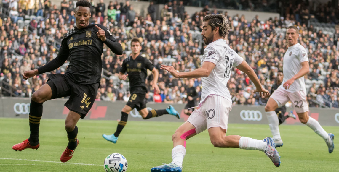 Los Angeles FC vs. Inter Miami CF.